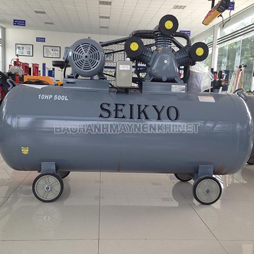 Cấu trúc máy nén khí Seikyo đơn giản nên việc vệ sinh cho máy khá dễ dàng
