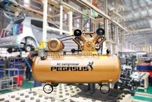 Thiết bị nén khí piston 2 cấp có khả năng làm tăng áp suất khí nhanh chóng