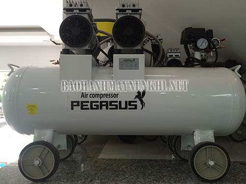 Máy nén khí không dầu, giảm âm được ứng dụng phổ biến trong thực tế